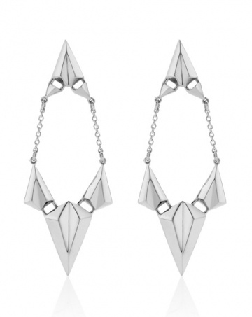 Faceted Drop Earrings, Meadowlark Jewellery