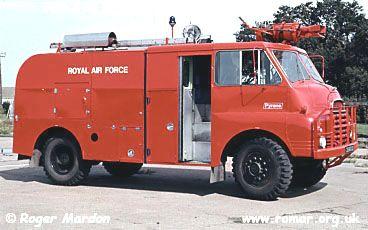 TACR (truck airfield crash rescue) RAF