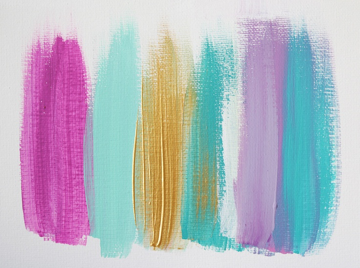 Colors 28 - an original painting by Jen Ramos at Cocoa & Hearts (pinning for color palette)
