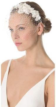 http://www.shopstyle.com: Jenny packham May Veil Headdress I