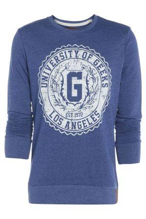 Mens Geek Sweatshirt £18.00 #geek #cool #bravesoulcouk
