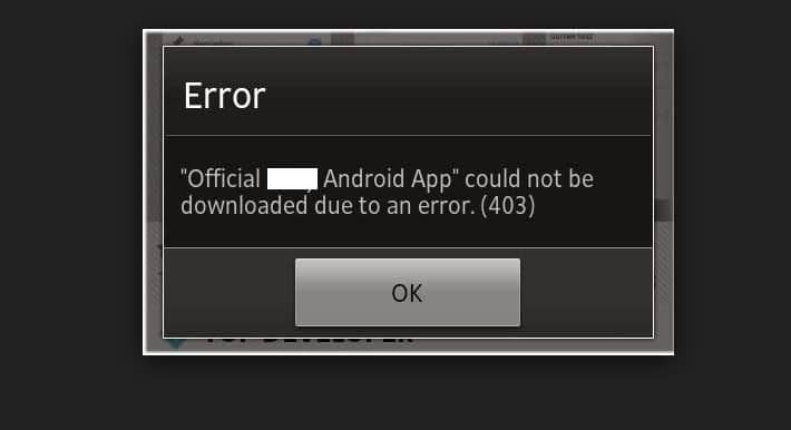 Here's the fixed solution for Error 403 on download app from android play store. Without fixed this we couldn't download new app on android mobile/ Tablet.