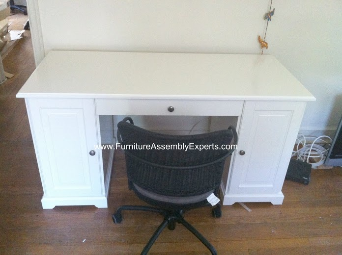 Ikea Hemnes Desk Assembled In Annapolis Md By Furniture Assembly Experts    Call 2407052263