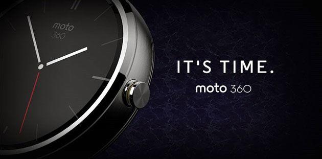 Motorola Moto 360 este primul smartwatch pe tehnologie Android Wear