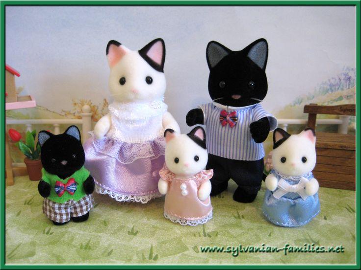 Sylvanian families cat family                                                                                                                                                     More