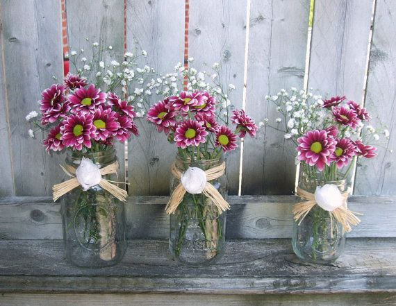 Best images about rustic wedding decoration mason jar