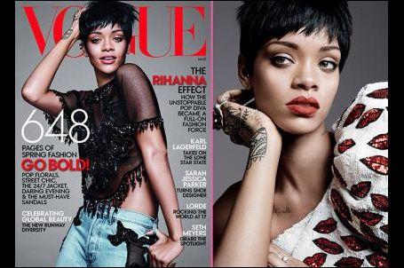 #Rihanna: Hiçbir zaman ünlü olmak istemedim #Vogue dergisinin 2014 Mart sayısının kapak kızı olan #Rihanna, dergiye verdiği röportajda yıldızlığa yükselişinden Instagram'a eklediği fotoğraflarına değin çeşitli konulara değindi.