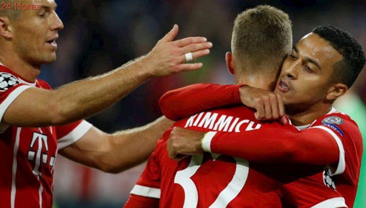 Con Arturo Vidal suspendido Bayern Munich vence a Anderlecht en su estreno en la Champions