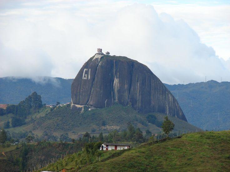 El Peñón de Guatapé,  Antioquia, Colombia