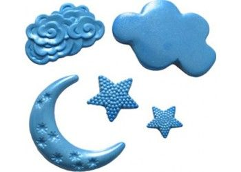 shop first impressions silicone mould moon stars u0026