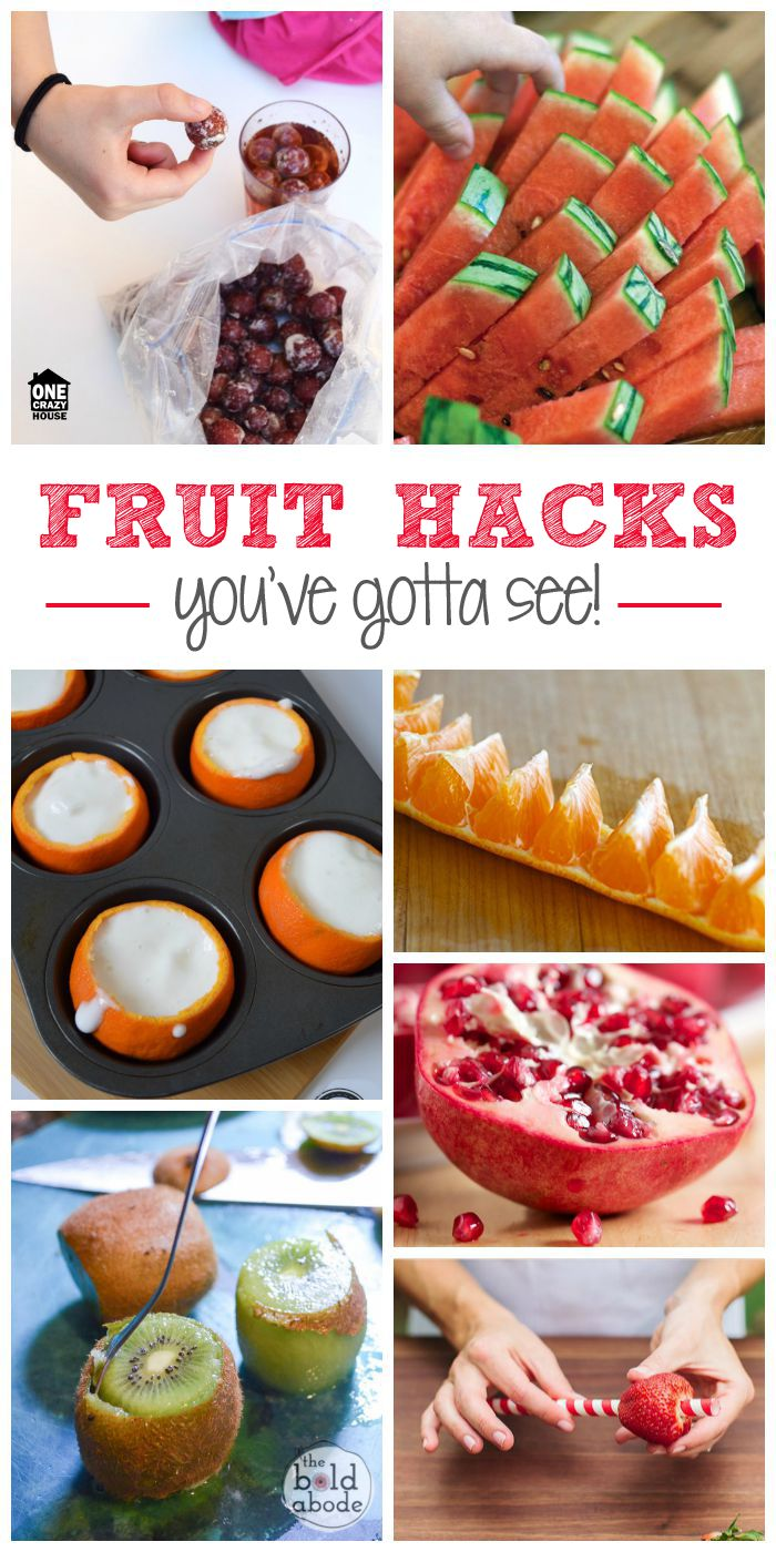 25 Fruit Hacks You've Gotta See - One Crazy House