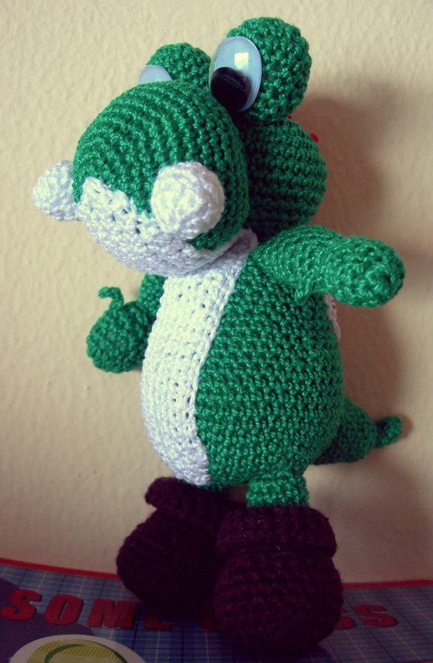 Te traemos este tierno personaje de Mario Bros: Yoshi.