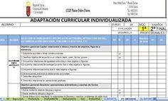 RECURSOS AULA DE APOYO: PLAN DE TRABAJO INDIVIDUALIZADO DE ACNEE EN EXCEL
