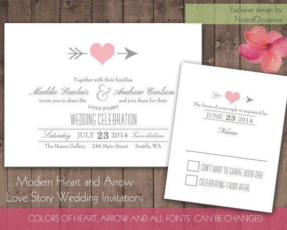 sweethearts wedding invitation heart wedding invitations printable