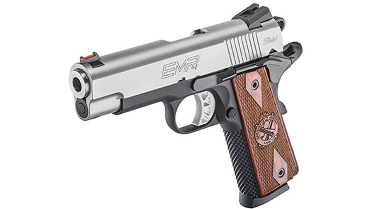 Review: Springfield Armory EMP4 9 mm 1911 PistolLoading that magazine is a pain! Get your Magazine speedloader today! http://www.amazon.com/shops/raeind