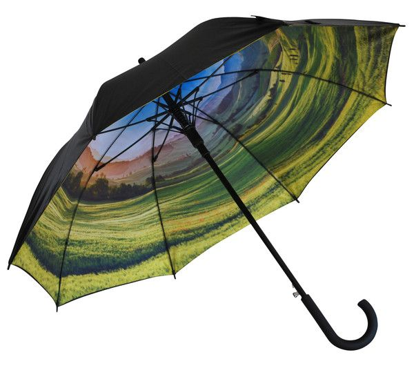 'Rolling Hills' Classic Umbrella | Where I'd Rather Be | http://www.whereidratherbe.co.uk/products/rolling-hills-classic-umbrella