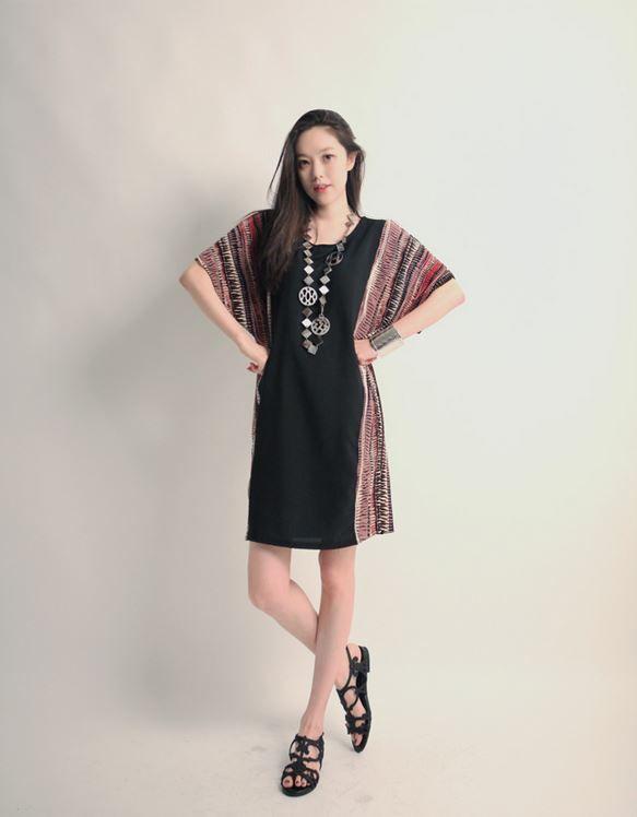 Korea feminine clothing Store [SOIR] Imperial One Piece (2Color) / Size : Free / Price : 22.67USD #korea #fashion #style #fashionshop #soir #feminine #special #lovely #luxury #dress #white #black