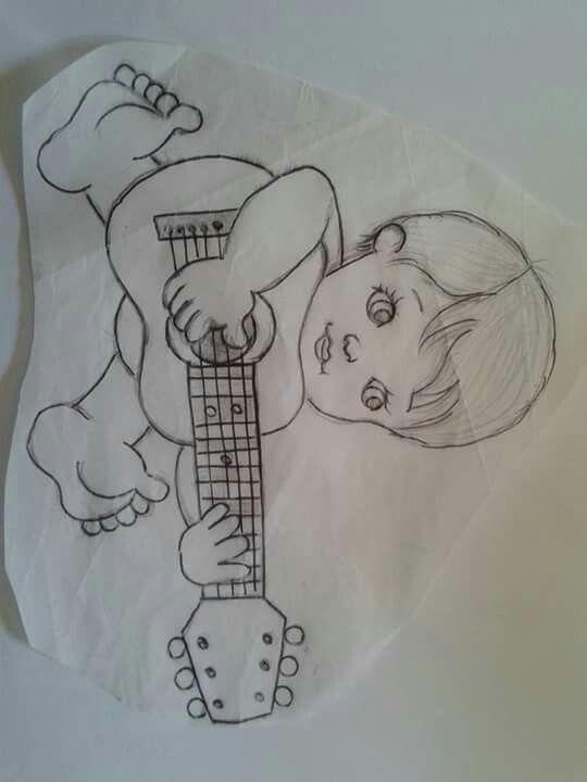 Menino com violão