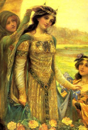 """According to Hopkins, """"[Arthur's] queen, Guinevere, is more elusive, less written about [than Arthur and his knights], and yet has been for centuries a central character playing a critical role in the rise and fall of the Round Table"""" (6). He goes on by characterizing her as """"a key figure in the life of Camelot, this remarkable woman is seen variably as scholar, seductress, warrior, and dignified gentle beauty by the countless artists and writers who have depicted her. Who, then, was…"""
