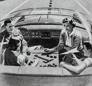 In the 1950s RoyalAuto reported on the possibility of driverless cars.