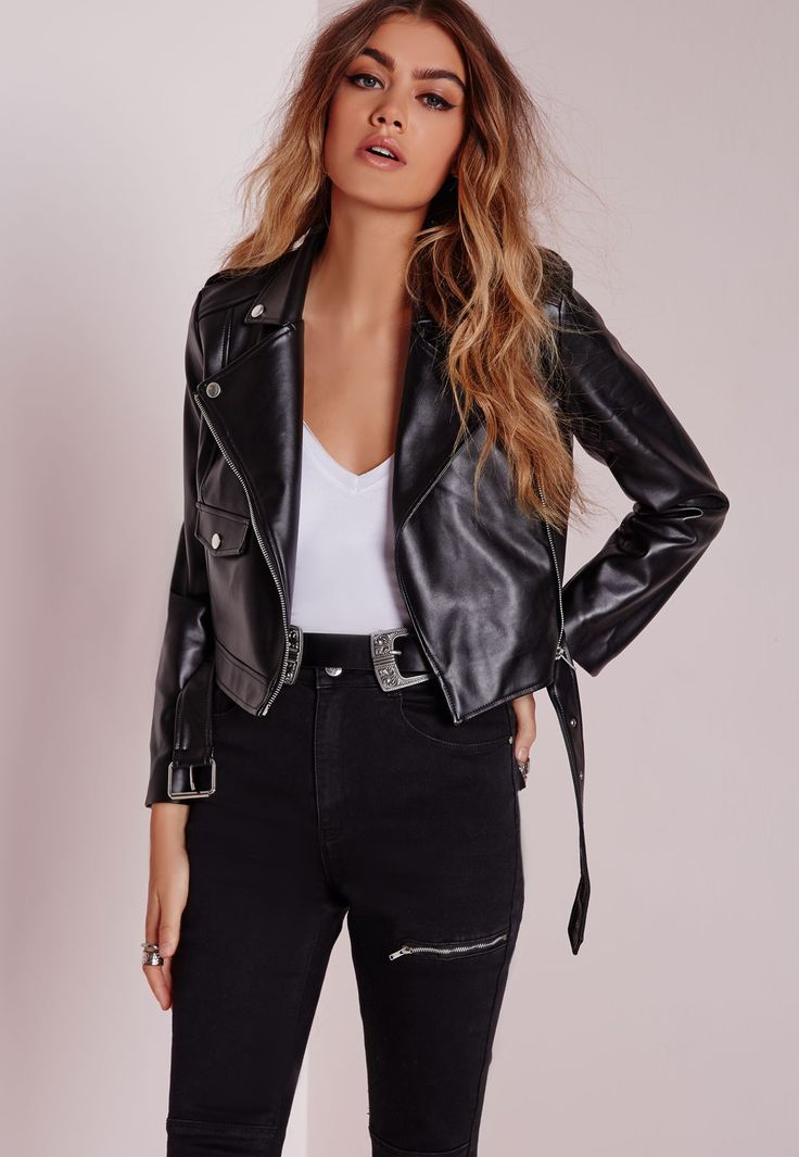 17 best ideas about Leather Biker Jackets on Pinterest | Biker ...