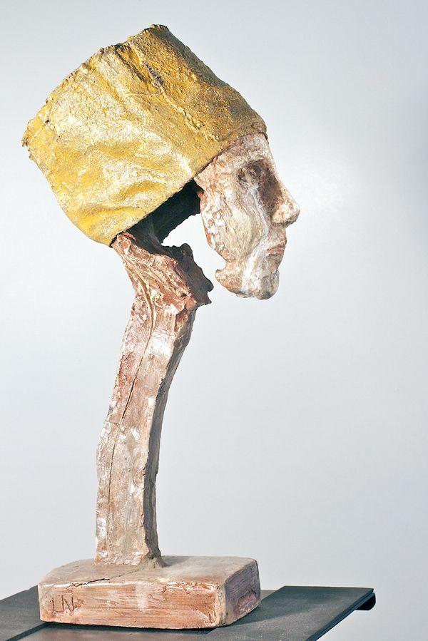 Lasse Nissilä: Wordless mind (Sanaton mieli), 2013. Concrete. 25x18x11 cm.