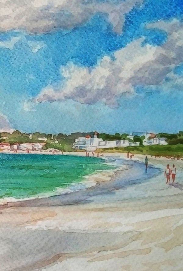 35 Easy Watercolor Landscape Painting Ideas To Try Watercolor Landscape Watercolor Landscape Paintings Watercolor Sky