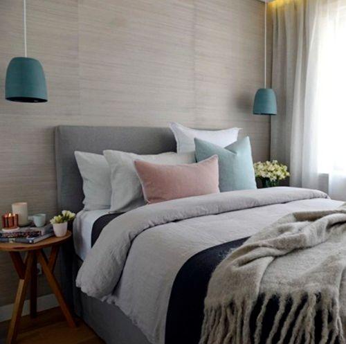Current favourite - Mud Australia pendant lights. Bedroom by Darren & Deanne Jolly on The Block.