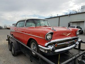 1957 Chevrolet Bel Air - The car is done and leaving the shop.