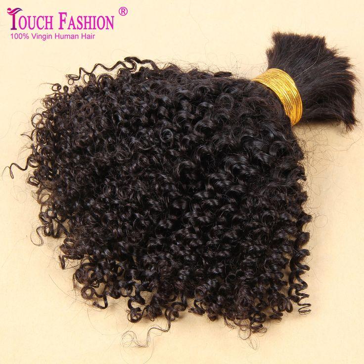 Touch Fashion Curly Braiding Human Hair Bulk 3pcs Lot Bulk Hair for Braiding No Attachment Virgin Curly Hair Bulk No Weft //Price: $US $85.87 & FREE Shipping //   http://humanhairemporium.com/products/touch-fashion-curly-braiding-human-hair-bulk-3pcs-lot-bulk-hair-for-braiding-no-attachment-virgin-curly-hair-bulk-no-weft/  #hair_extensions