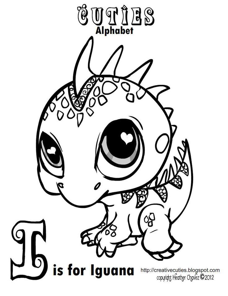 40 best coloring cuties images on Pinterest Coloring books - new alligator coloring pages to print