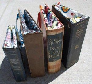 How to make a book bag.