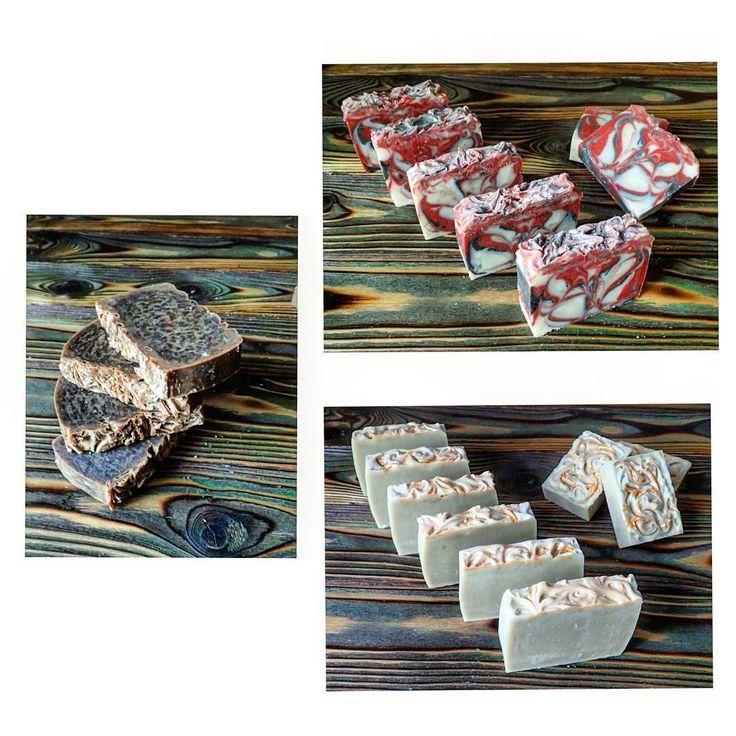 """Новое мыло в рецептурную коллекцию: - бодрящее кофейное мыло с кофе """"утро"""" - уходовое мыло для душа с глиной- свирлы - шампуневое мыло на индийских супер травах и суперполезных для волос маслах #мыло #мылоснуля #шампуневоемыло #ХС  #мылодлядуша #кофейноемыло #бодрящеемыло #ручнаяработа #soap #handmade"""