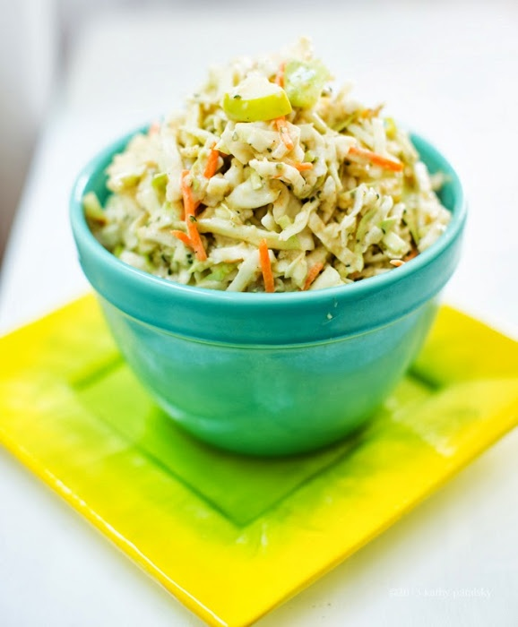Ah, vegan slaw: the perfect summer side. Get six recipes in one thanks to Happy. Healthy. Life.!