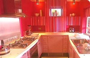1950s style fitted kitchen. Some good tips on this BBC website