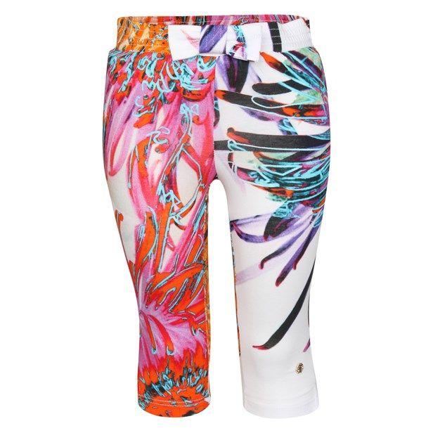 ROBERTO CAVALLI Leggings White/Colourful fra Babystore. Om denne nettbutikken: http://nettbutikknytt.no/babystore-no/