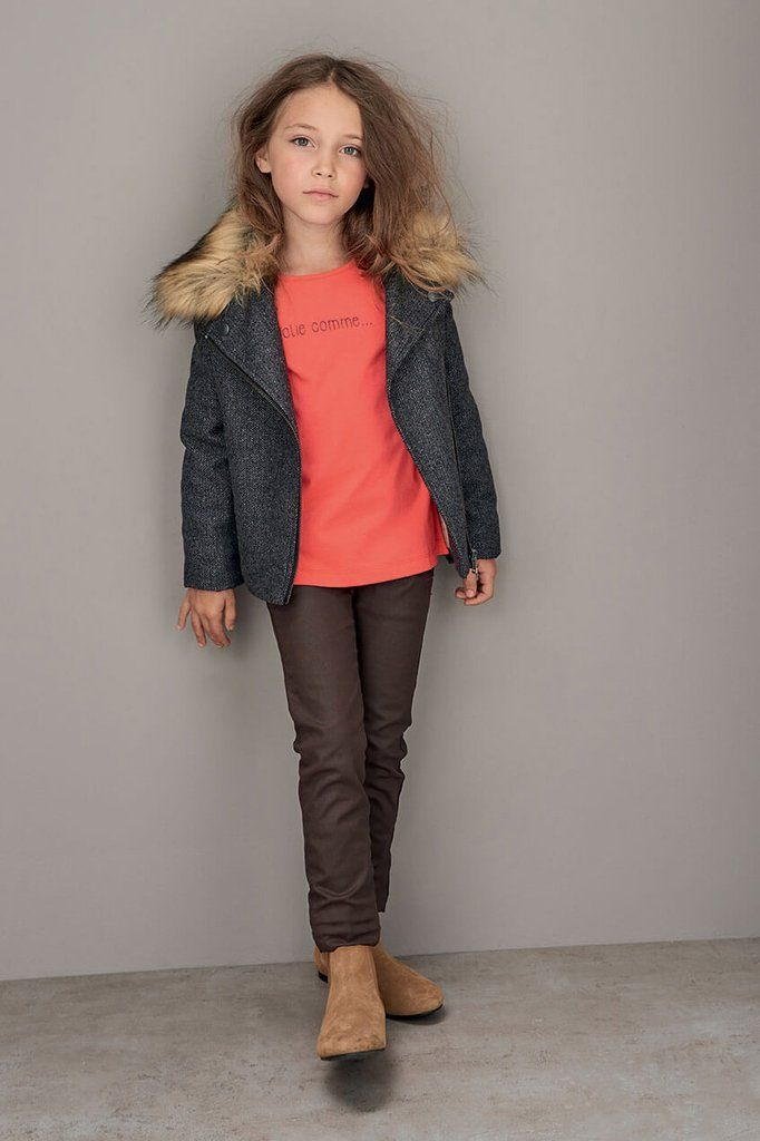 Featured look with the Nijasuno girls jacket by Marese