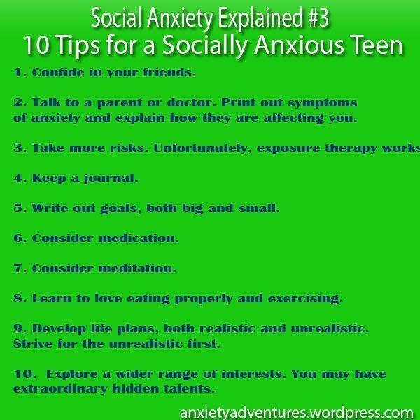 socially anxious teens