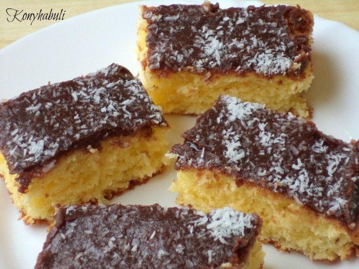 Pár éve a Nosalty-n akadtam erre a receptre,azóta egyik kedvenc sütink, több szempontból is :-) Nagyon gyorsan kész van, és egyszerűsége ellenére...