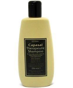 Miscellaneous Capasal Therapeutic Shampoo 250ml Capasal therapeutic shampoo is a medicated shampoo for the treatment of dry, scaly scalp conditions such as seborrhoeic eczema, seborrhoeic dermatitis, dandruff, psoriasis and cradle cap in children.  http://www.MightGet.com/january-2017-11/miscellaneous-capasal-therapeutic-shampoo-250ml.asp