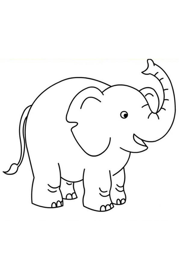 Baby Elephant Coloring Page Coloring Pages In 2020 Elephant Colouring Pictures Elephant Coloring Page Elephant Colour