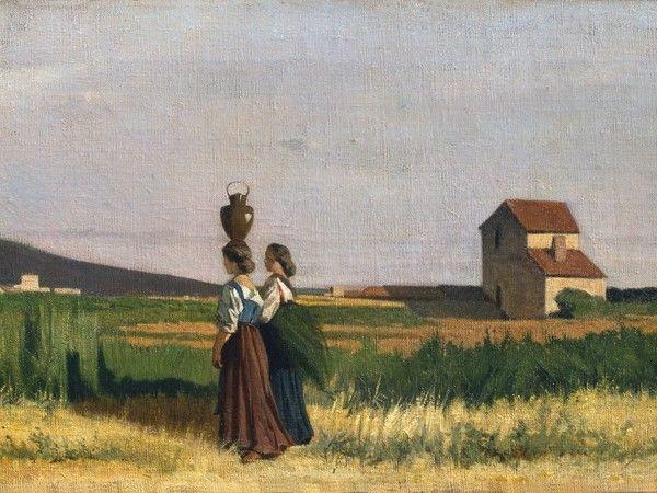 Giovanni Fattori, Acquaiole livornesi, 1865,