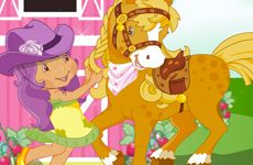 Juegos de Fresita.com - Juego: Strawberry Pony Gratis Online - Rosita Fresita Frutillita Tarta de shddyhtgdbxzsgg