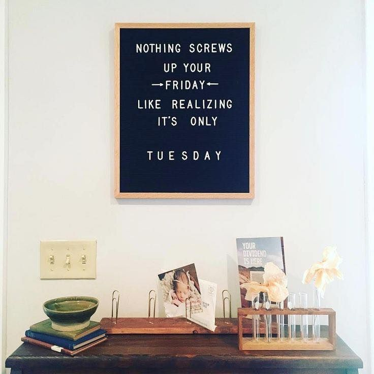 Witty Funny Letter Board Quotes