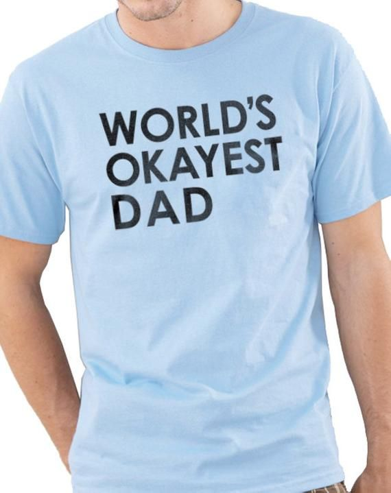 orlds okayest dad mens - 570×719
