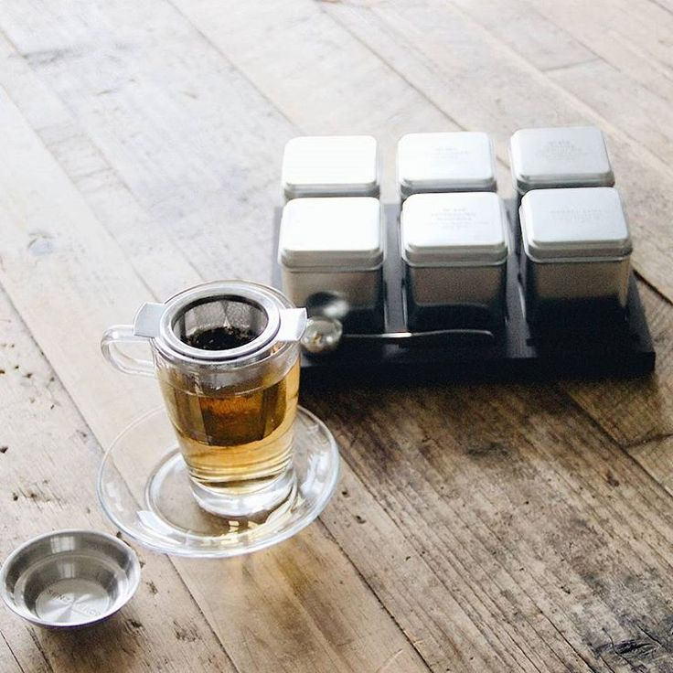 The process of preparing a cup of loose leaf tea is a
