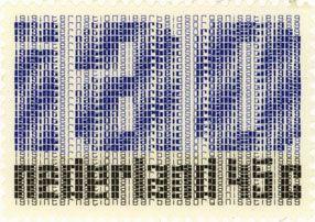 1969 | Jurriaan Schrofer | blauw, zwart | typografisch