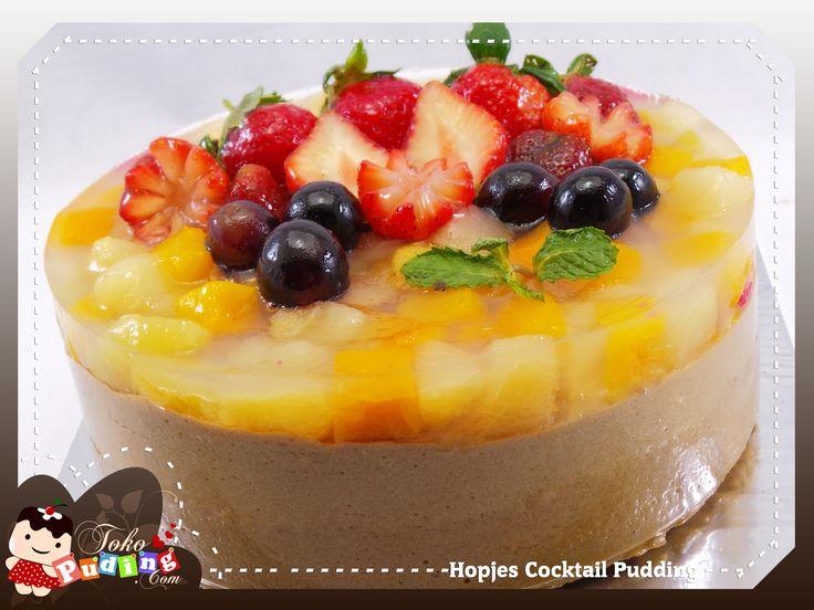 Hopjes Cocktail Pudding
