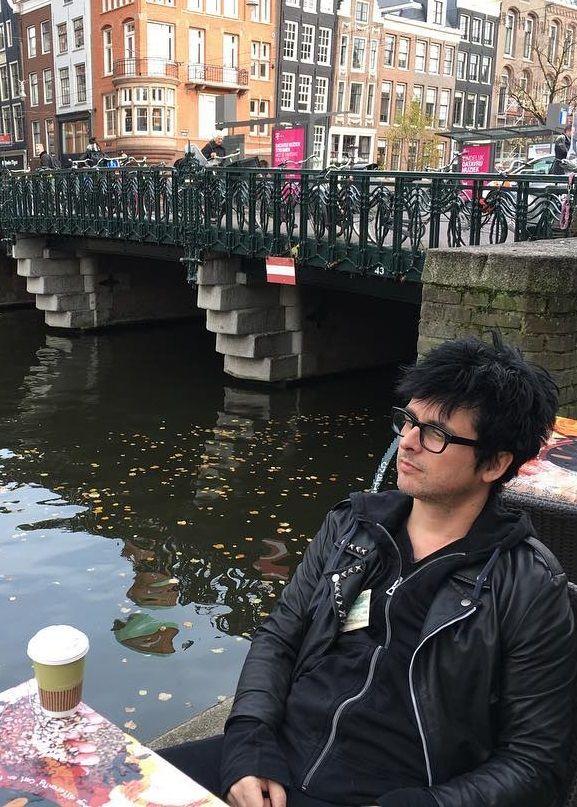 Billie Joe Armstrong in Amsterdam (MTV Europe Music Awards 2016 on November 6, 2016 in Rotterdam, Netherlands)