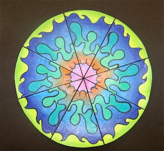Math Art- rotational symmetry